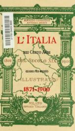 L'Italia nei cento anni del secolo XIX (1801-1900) giorno per giorno illustrata 5_cover