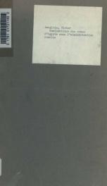 Numismatique des nomes d'Egypte sous l'administration romaine_cover