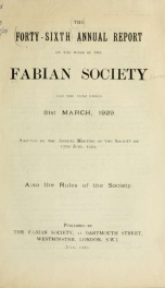 Fabian tract 1928-29_cover