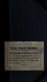 The message of the mission; can we accept it? : a sermon preached in the Mill-Hill Chapel, Leeds, on Sunday, February 7th, 1875_cover