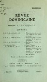 Revue dominicaine 25, no.12_cover
