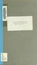 Religionsgeschichtliche Versuche und Vorarbeiten 19 pt 3_cover