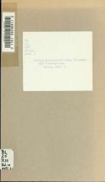 Religionsgeschichtliche Versuche und Vorarbeiten 11 pt3_cover