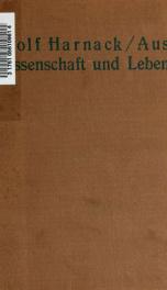 Aus Wissenschaft und Leben_cover