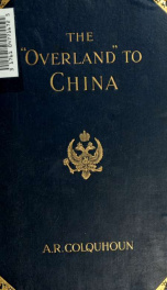 """The """"Overland"""" to China_cover"""
