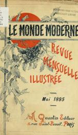Le Monde moderne 1895, no.5_cover