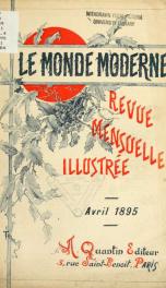Le Monde moderne 1895, no.4_cover