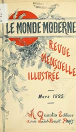 Le Monde moderne 1895, no.3_cover