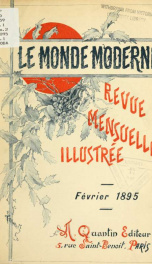 Le Monde moderne 1895, no.2_cover