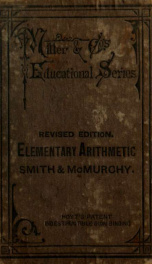 Elementary arithmetic for Canadian schools_cover