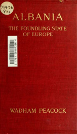 Albania : the foundling state of Europe_cover