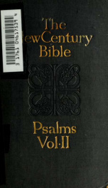 The Psalms: introduction; Revised version, with notes and index 2_cover