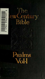 The Psalms: introduction; Revised version, with notes and index 1_cover