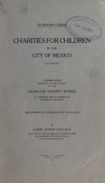 Charities for children in the City of Mexico_cover