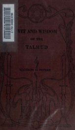 Wit and wisdom of the Talmud_cover