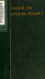 Commentary on the seven penitential psalms 1_cover