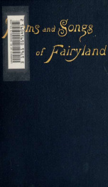 Songs and poems of Fairyland : an anthology of English fairy poetry_cover