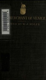 The merchant of Venice_cover