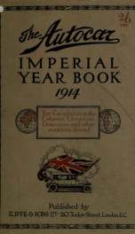Autocar Imperial Year Book_cover