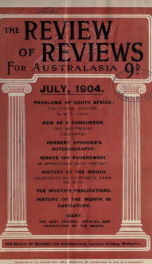 Stead's Review 1904_cover