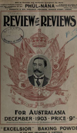 Stead's Review 1903_cover