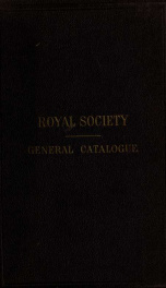 Catalogue of scientific books in the Library 1890_cover