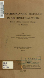 Archives of psychology 155_cover