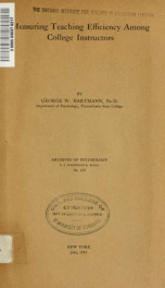 Archives of psychology 154_cover