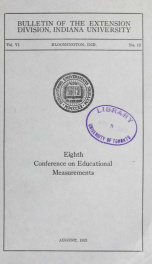 Conference on educational measurements 6 no 12_cover