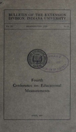 Conference on educational measurements 3 no 8_cover