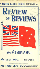 Stead's Review Oct 1900_cover