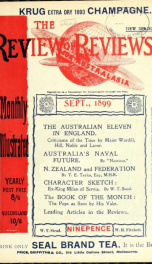Stead's Review Sep 1899_cover