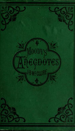 Anecdotes and illustrations of D.L. Moody related by him in his revival work;_cover