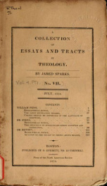 A collection of essays and tracts in theology_cover