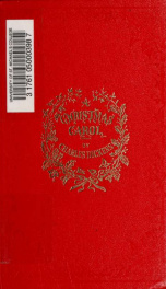A Christmas carol : in prose; being a ghost story of Christmas_cover