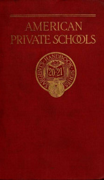 The Handbook of private schools_cover