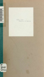 Township of Oneida : events occuring in the years 1820-1920_cover