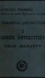 Greek antiquities_cover