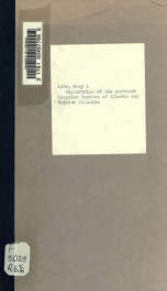 Exploration of the northern Canadian Rockies of Alberta and British Columbia; preliminary report of the expedition of 1914_cover