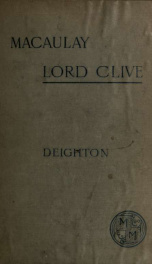 Lord Clive_cover