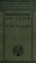 Essay on Clive_cover