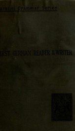 A first German reader and writer_cover
