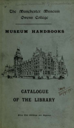 Catalogue of the books and pamplets_cover