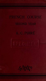 French course, second year_cover