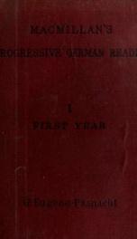 MacMillan's progressive German course 1_cover