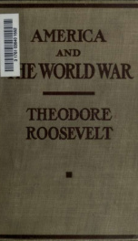 America and the World War_cover