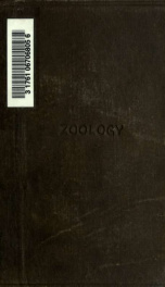 Textbook of zoology;_cover