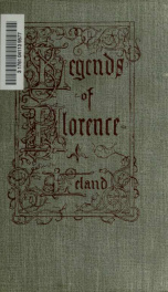 Legends of Florence, collected from the people_cover