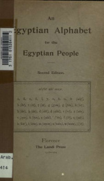 An Egyptian alphabet for the Egyptian people_cover