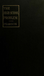 The high school problem_cover